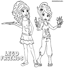 Coloring Pages Ideas Printable Lego Friends Coloring Pages