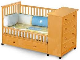 Baby Convertible Captains Crib Woodworking Plans On Paper EBay