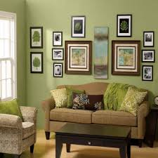 Decorating A Large Wall How To Decorate A Wall Lots Of Ideas Between Stencil And Painting
