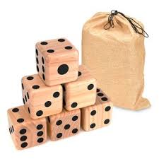 Wooden Yard Games Giant Wooden Yard Dice Wayfair 88