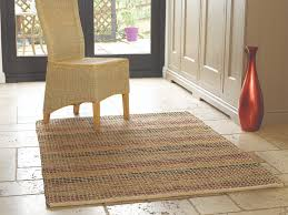 seagrass terracotta rug