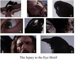 the monstrous passion note recall the shot of the elderly man his eyes gouged out in alfred hitchcock s the birds 1963