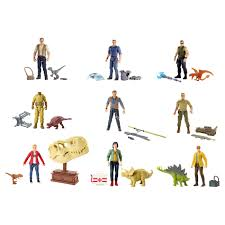 Базовые фигурки героев <b>Jurassic World</b> (в асс) <b>Mattel</b> FMM00 ...