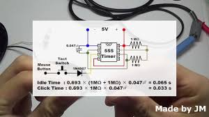 revised how to make an auto click mouse circuit revised how to make an auto click mouse circuit
