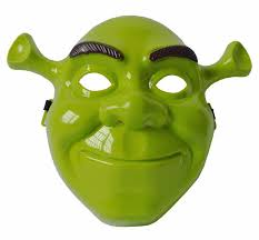 Giant Masquerade Mask Decoration Green Party Mask Halloween Fancy Dress Cosplay Costume Masquerade 63