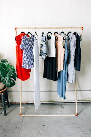 great diy clothes rack wood