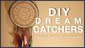 What Do Dream Catchers Mean DIY DREAM CATCHERS Unique Bohemian Colorful YouTube 41