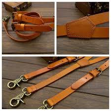 leather suspenders for men wedding groomsmen suspenders tan troya leather