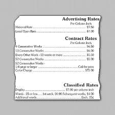 Understanding Advertising Rate Cards