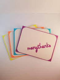 Thank You Note - Business Thank You Card - Thank You Card Bulk - Set ...