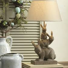bunny stack lamp