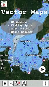 Minnesota Fishing Lake Maps Navigation Charts
