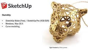 sketchup 3d printing program