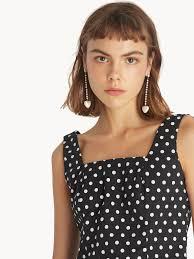 Faux <b>Pearl Heart</b> Drop <b>Earrings</b> - White - Pomelo <b>Fashion</b>
