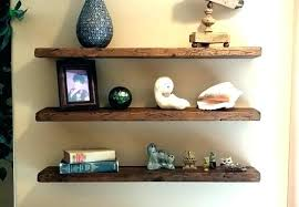 Salvaged Wood Floating Shelves Beauteous Barn Wood Floating Shelves Salvaged Wood Floating Shelves Reclaimed