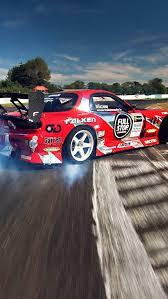 mazda logo iphone wallpaper. mazda rx 7 racing drift smoke iphone wallpaper 640x1136 5 logo