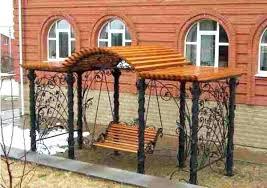 unique garden benches adding inviting and decorative accents to backyard designs bench concrete