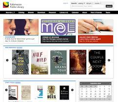 library websites for web design inspiration kalamazoo library