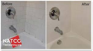 moldy tile shower