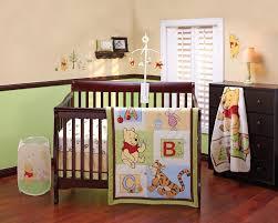 disney crib bedding sets com winnie the pooh abcs set baby
