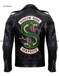 southside serpents leather jacket riverdale