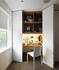 based in primrose hill living in space offers skill and innovation in interior design rustic oak atlas chunky oak hidden home office