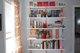 wall mounted diy bedroom bookshelf design image 10