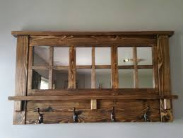 Entryway Wall Mounted Coat Rack Clever Design Mirror Coat Racks Wall Mounted Rustic Entryway Bench 100