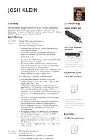 Resume For Mechanical Engg Best Mechanical Engineering Resumes Under Fontanacountryinn Com