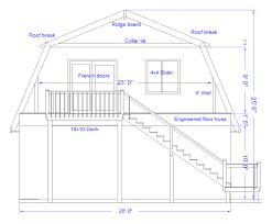 Gambrel Roof Barn Plans  Home Plans U0026 Blueprints  30038Gambrel Roof Plans