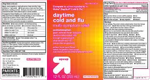 Up And Up Daytime Cold And Flu Solution Target Corporation