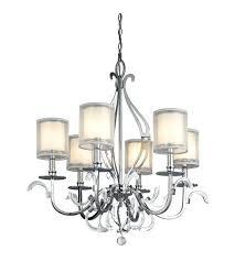 kichler 6 light chandelier 6 light inch chrome chandelier ceiling light photo kichler covington 6 light