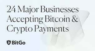Need a cup of joe to get your day started? 24 Major Businesses Accepting Bitcoin Crypto Payments By Bitgo Editor Mar 2021 Official Bitgo Blog
