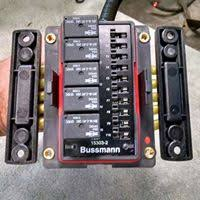 bussman fuse block relay install ih8mud forum make whatever feet are required to mount where you want it and you have a clean fuse box under the hood