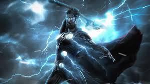 hd wallpaper thor lightning strike