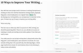 ways to improve your writing skills today one month additional benefits of using grammarly include the following