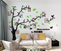 >3d wall art decoration family tree of life diy sticker home photo  image is loading 3d wall art decoration family tree of life