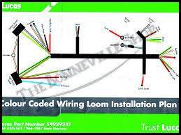 bsa a50 a65 lucas main wiring harness 66 67 pn 54939347 g 19 0897 Triumph Spitfire Wiring Harness this wiring harness fits 1966 &67 bsa a50 and a65 models only specifically lightning, thunderbolt, spitfire mkii and royal star models **** note, triumph spitfire wiring harness grommet