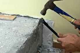 how to remove ceramic tile from concrete removing tiles from concrete removing old tile adhesive remove