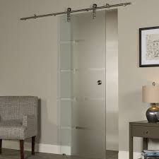 interior barn door with glass. New Vision Contour Glass Interior Barn Door With