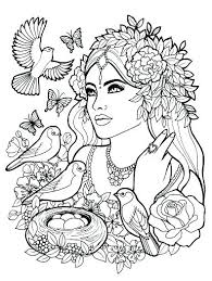 People Coloring Sheets Recolor Color Pages People Coloring Page