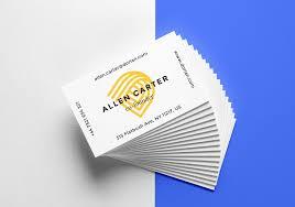 Business Cards Matt Laminated Gloss Laminated Soft Touch Spot Uv
