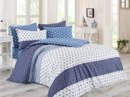 stargate blue double quilt cover set es 162elq28421 white blue dark blue