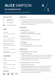resume in ms word resume template for word inspirational free hr resume format