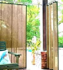 outdoor roll up blinds bamboo porch shades patio door roller and modern out vinyl