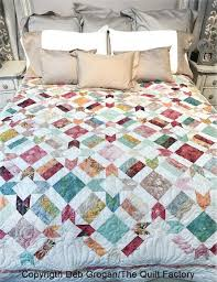 garden quilt. Batik Garden Quilt Pattern