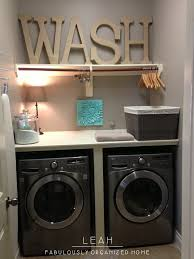 Very Small Laundry Room Simplify Organize Your Laundry Room Part 1