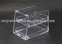 Acrylic Tiered Display Stands Clear Acrylic Countertop Bakery Display Case Acrylic Bakery 64