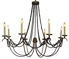 chandelier rustic wooden iron for large particular