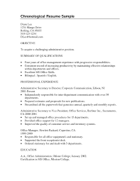 Resume Summary For Students Resume Summary Examples For College